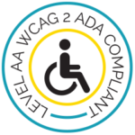 LEVEL AA WCAG 2 ADA COMPLIANT BADGE